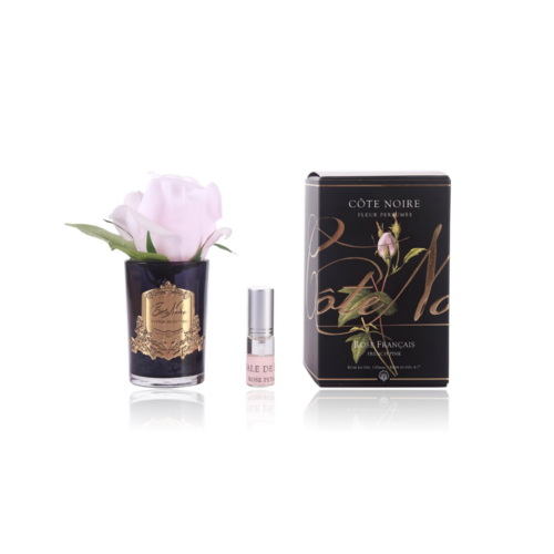 Cote Noire Perfumed Natural Touch Rose Bud - Black - French pink